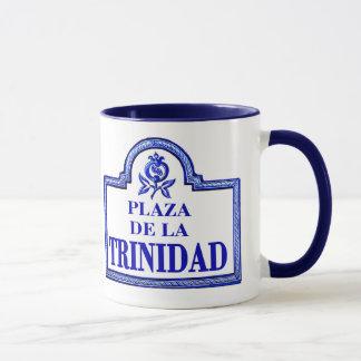Plaza de la Trinidad, Granada Street Sign Mug