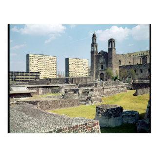 Plaza de las Tres Culturas, 14th-20th century Postcard