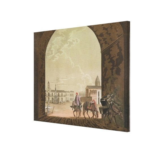 Plaza de Mayo, Buenos Aires, Argentina, from 'Le C Canvas Print