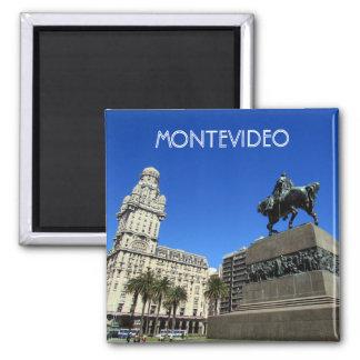 plaza de Montevideo Imán Cuadrado