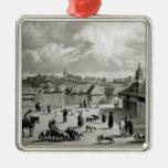 Plaza de San Carlos de Chiloe, 1835] Adornos