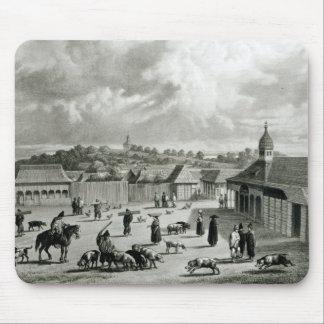 Plaza de San-Carlos de Chiloe, 1835  ] Mouse Pad