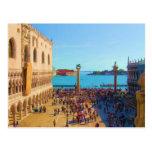 Plaza de San Marco - Venezia Italia Postal