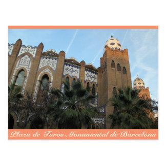 Plaza de Toros Monumental, Barcelona, postal