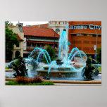 Plaza del club de campo de Kansas City Póster