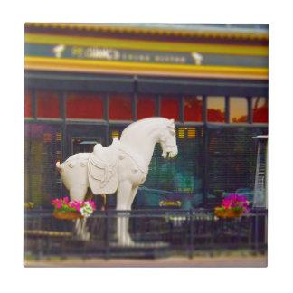 Plaza del club de campo del caballo de T ang del c Tejas Ceramicas