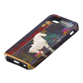 Plaza del club de campo del caballo de T ang del c iPhone 5 Case-Mate Carcasas