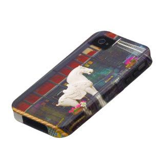 Plaza del club de campo del caballo de T ang del c Case-Mate iPhone 4 Carcasa