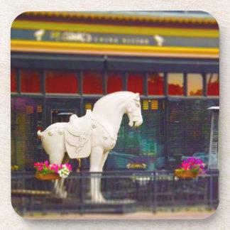 Plaza del club de campo del caballo de T ang del c Posavaso