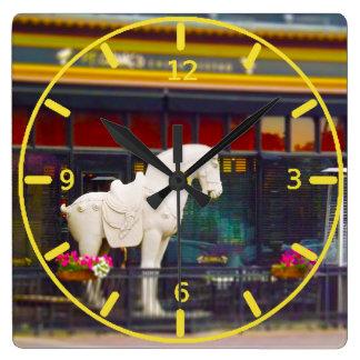 Plaza del club de campo del caballo de T ang del c Relojes