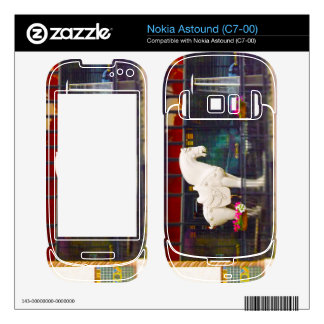 Plaza del club de campo del caballo de T ang del c Skins Para Nokia Astound