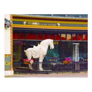 Plaza del club de campo del caballo de T ang del c Postal