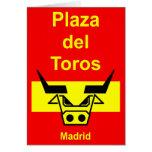 Plaza del Toros Felicitación
