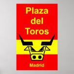 Plaza del Toros Posters