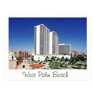 Plaza del triunfo, West Palm Beach, la Florida Postales