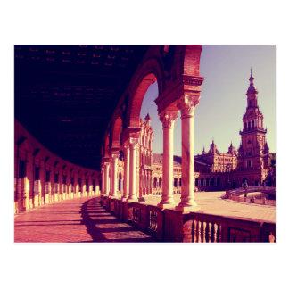 Plaza Espana, Sevilla, Spain Postcard