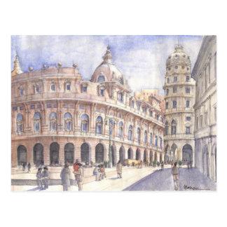 plaza Génova Tarjeta Postal