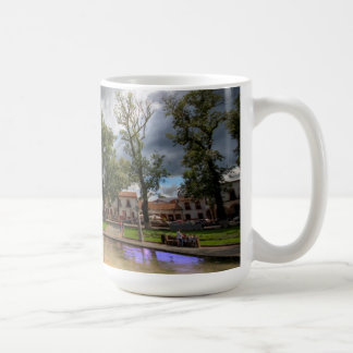 Plaza Grande coffee mug, Patzcuaro Classic White Coffee Mug