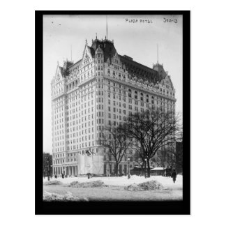 Plaza Hotel, New York City Vintage Post Cards