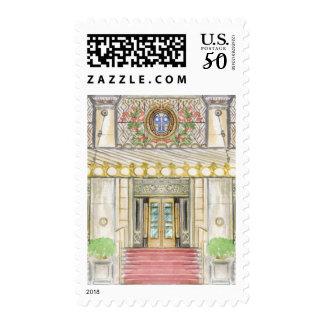 Plaza Hotel Stamp