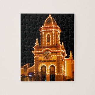 Plaza Lights Jigsaw Puzzle