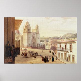Plaza Mayor de Guonajuato Poster