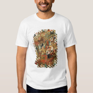 Plaza Mayor in Mexico, detail of carriages T-shirt