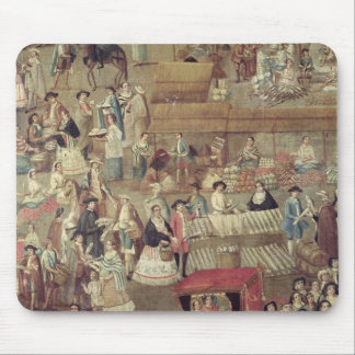 Plaza Mayor in Mexico, detail of the Market Mouse Pad