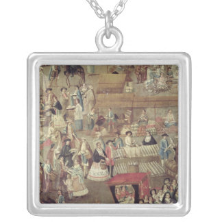 Plaza Mayor in Mexico, detail of the Market Square Pendant Necklace