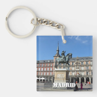 Plaza Mayor, Madrid Key Chain