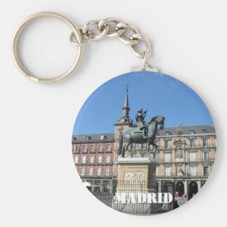 Plaza Mayor, Madrid Keychain