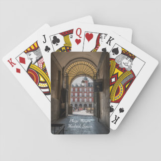 Plaza Mayor, Madrid Playing Cards