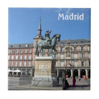 Plaza Mayor, Madrid Tile