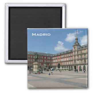 Plaza Mayor Refrigerator Magnets