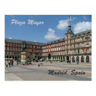 Plaza Mayor Postcard