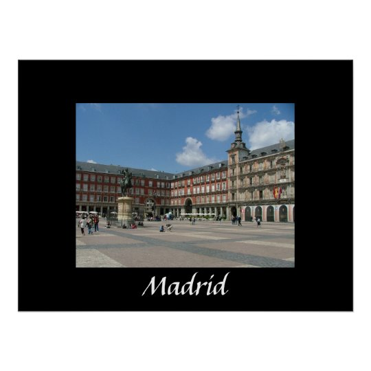 Plaza Mayor Poster