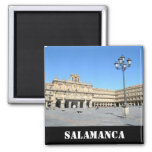 Plaza Mayor, Salamanca 2 Inch Square Magnet