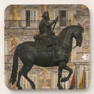 Plaza Mayor with statue of Filipe III, Madrid, Coaster