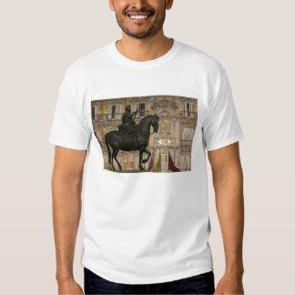 Plaza Mayor with statue of Filipe III, Madrid, Shirt