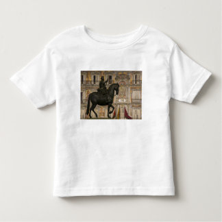Plaza Mayor with statue of Filipe III, Madrid, Toddler T-shirt