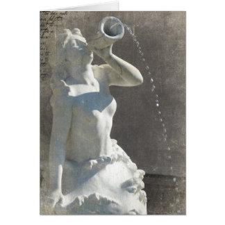 Plaza Mermaid Card