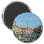 Plaza Navona - Roma Imán Para Frigorifico