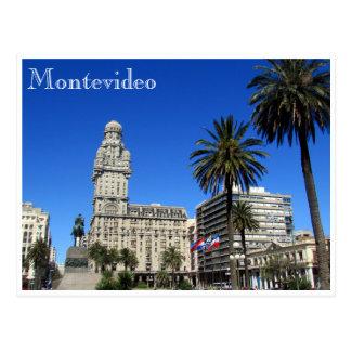 plaza palacio salvo postcard