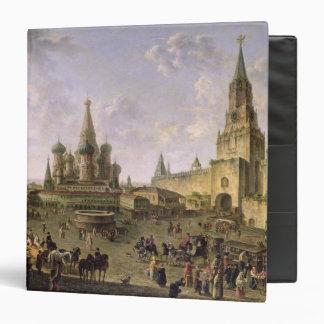 "Plaza Roja, Moscú, 1801 Carpeta 1 1/2"""