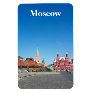 Plaza Roja. Moscú Imanes Rectangulares