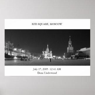 Plaza Roja Moscú Poster