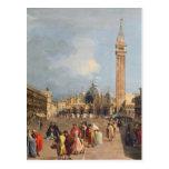 Plaza San Marco, Venecia, c.1760 Postal