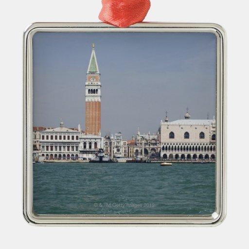 Plaza San Marco Venecia Italia Ornamentos De Navidad