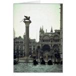Plaza San Marco, Venecia, Italia Felicitaciones