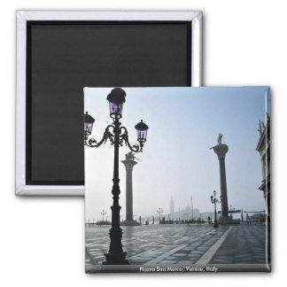 Plaza San Marco Venecia Italia Iman Para Frigorífico